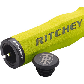 Ritchey WCS Ergo True Grip Handvatten Lock-On, geel